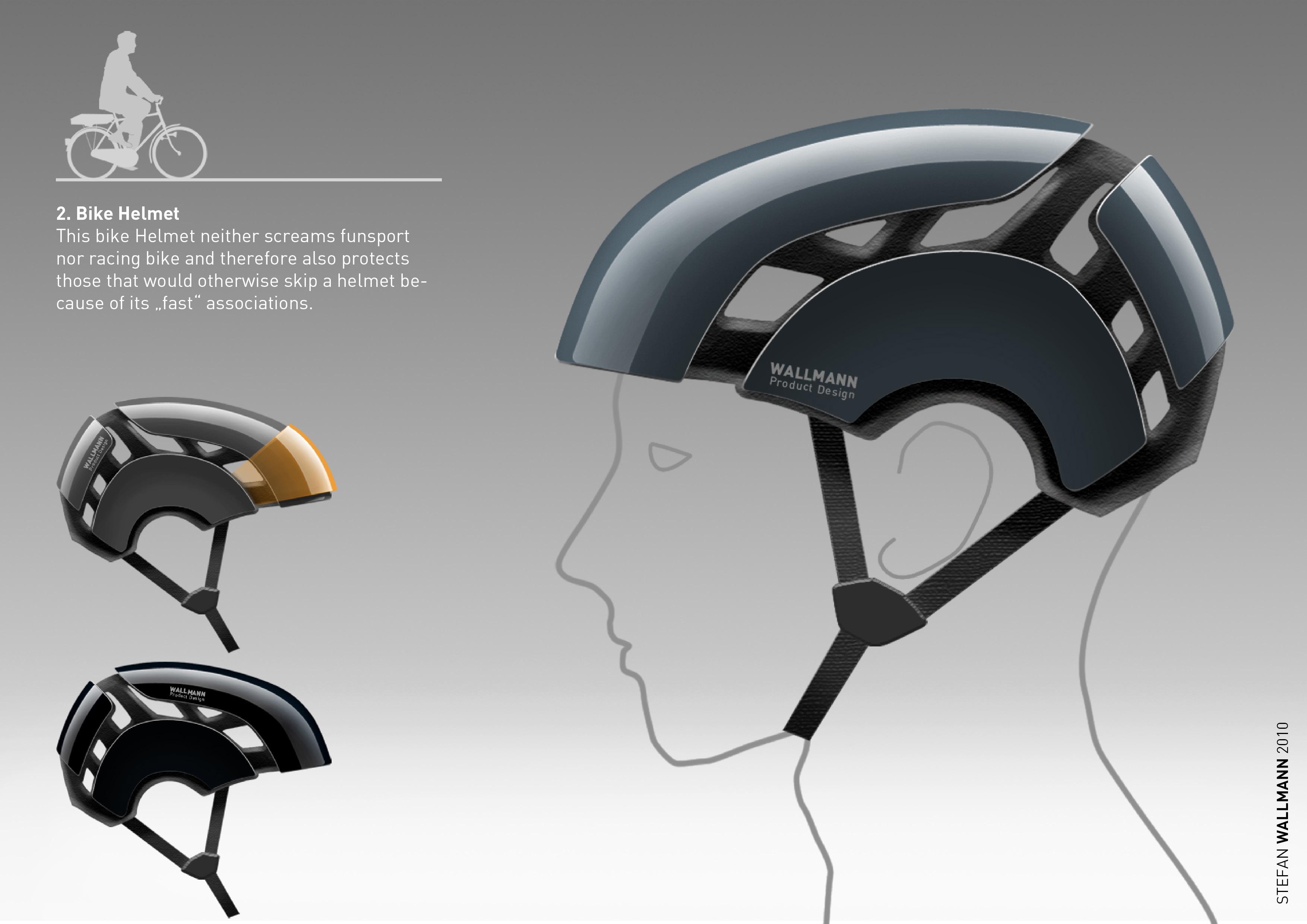 bike helmet | stefan wallmann